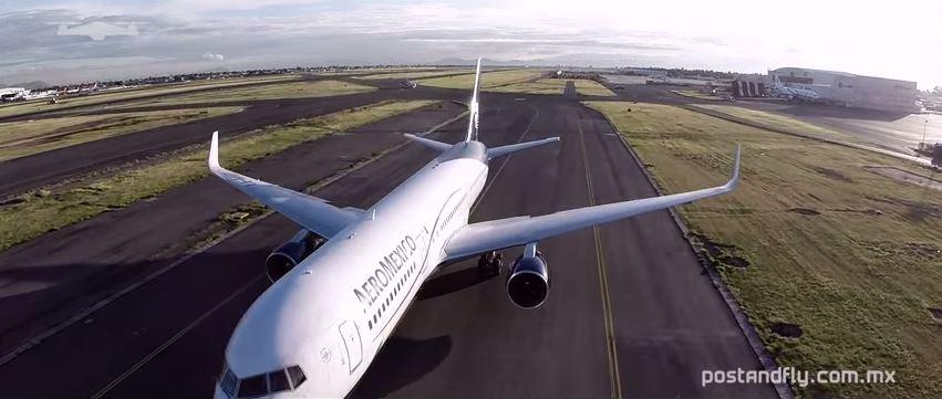 Drone op vliegveld