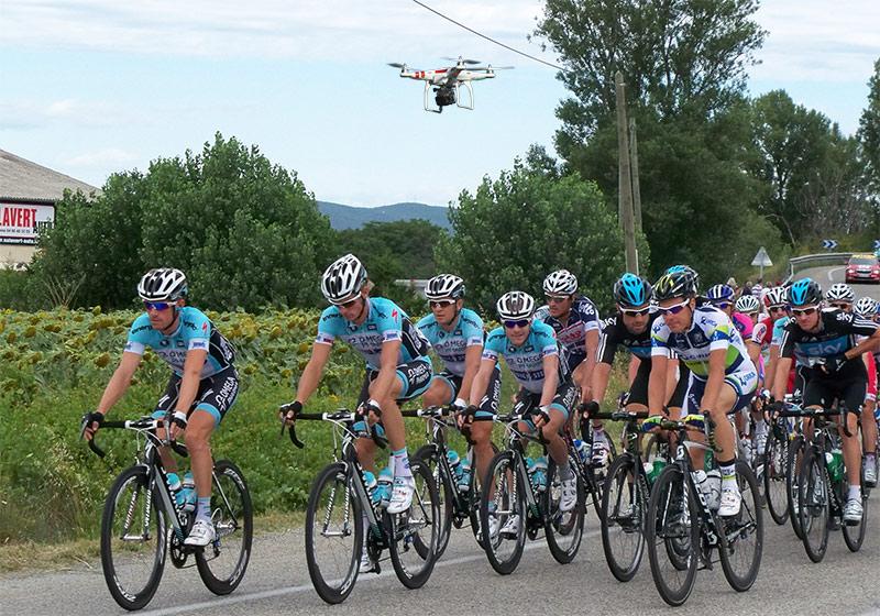 Drone verbod Tour de France Utrecht 2015