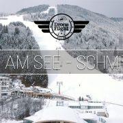 Zell am see, Areitbahn, oostenrijk, skien